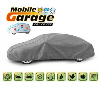 Prelata auto, husa exterioara Bmw Seria 3 E46 Coupe impermeabila in exterior anti-zgariere in interior lungime 440-480cm, XL Coupe, model Mobile Garage