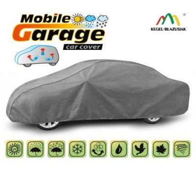 Prelata auto, husa exterioara Bmw Seria 7 E23 E32 E38 E65 E66 E67 F01 F02 F03 F04 impermeabila in exterior anti-zgariere in interior lungime 500-535cm, XXL Sedan, model Mobile Garage