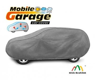 Prelata auto, husa exterioara Nissan Qashqai impermeabila in exterior anti-zgariere in interior lungime 430-460cm, L Suv/ Off Road, model Mobile Garage