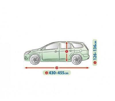Prelata auto, husa exterioara Opel Astra H (Iii) Hatchback /Combi  impermeabila in exterior anti-zgariere in interior lungime 430-455cm, L2 Hatchback/ Combi, model Mobile Garage