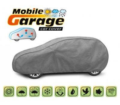 Prelata auto, husa exterioara VW Golf 7 Hatchback impermeabila in exterior anti-zgariere in interior lungime 405-430cm, L1 Hatchback/ Combi, model Mobile Garage