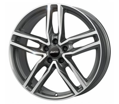 Alutec Ikenu Graphite Front Polished 8J x 19 Inch 5X112 et45