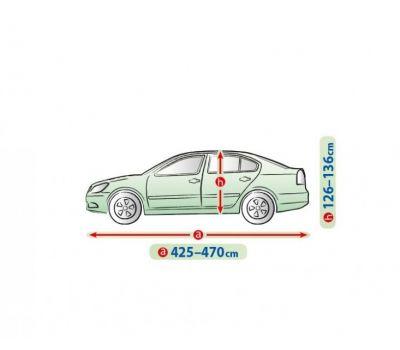 Prelata auto, husa exterioara Škoda Octavia Liftback/ Sedan impermeabila in exterior anti-zgariere in interior lungime 425-470cm, L Sedanmodel Mobile Garage