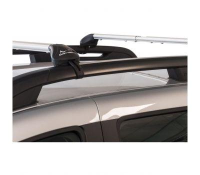 Bare transversale Green Valley Freeline Aluminiu pentru VW Touran 5 usi MPV, model 2003-2015, Sistem cu prindere pe bare longitudinale