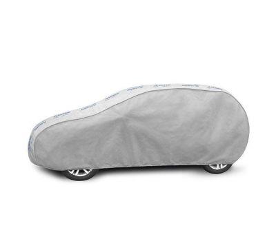 Prelata auto, husa exterioara VW Golf 5 Hatchback, impermeabila in exterior anti-zgariere in interior lungime 405-430cm, L1 Hatchback/ Combi, model Basic Garage