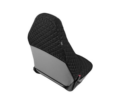 Husa scaun auto COMFORT pentru Alfa Romeo 147, culoare negru, bumbac + polyester