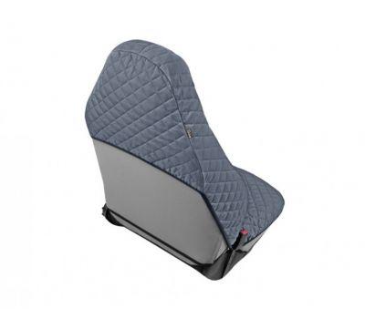 Husa scaun auto COMFORT pentru Audi A1, culoare gri, bumbac + polyester