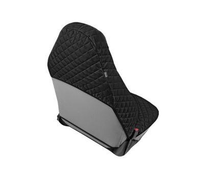 Husa scaun auto COMFORT pentru Audi A1, culoare negru, bumbac + polyester