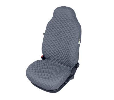Husa scaun auto COMFORT pentru Audi A8, culoare gri, bumbac + polyester