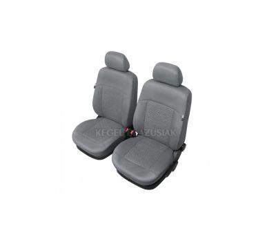 Set huse scaun model Arcadia pentru Audi 100, culoare gri, set huse auto Fata