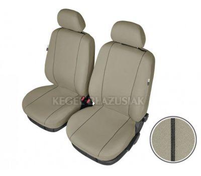 Set huse scaun model Hermes Beige pentru Audi 100, culoare bej, set huse auto Fata
