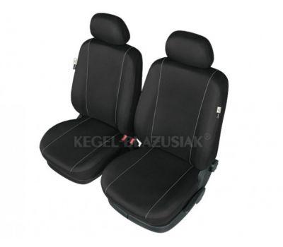 Set huse scaun model Hermes Black pentru Audi 80, set huse auto Fata