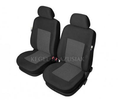 Set huse scaun model Perun pentru Audi 100, culoare Negru, set huse auto Fata