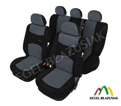 Set huse scaune auto SportLine Gri pentru Alfa Romeo Mito