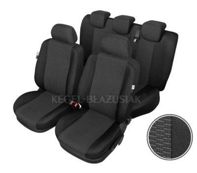 Huse scaune auto ARES pentru Dacia Logan, set huse fata + spate