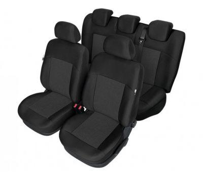 Set huse scaune auto Kegel Tailor Made pentru Ford Focus 2 2004-2011, Ford Focus 3 2011- , set huse fata + spate  - Huse DEDICATE