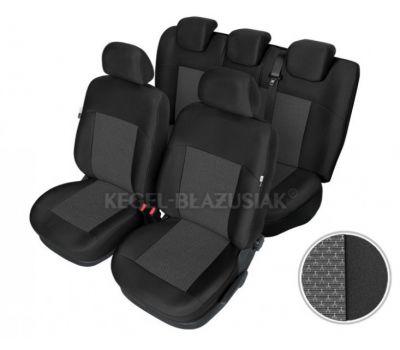 Set huse scaun model Apollo pentru Opel Corsa set huse auto Fata + Spate