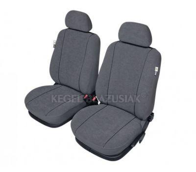 Set huse scaun model Elegance pentru Opel Astra H (III), culoare gri, set huse auto Fata