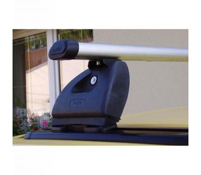Bare transversale Hakr Aluminiu pentru OPEL Astra, 5 usi Hatchback, model 2004-2009, Sistem cu prindere in puncte fixe