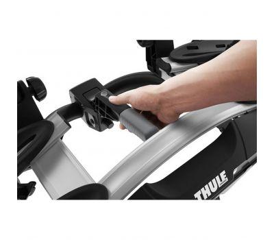 Suport biciclete Thule VeloCompact 925 cu prindere pe carligul de remorcare, pentru 2 biciclete