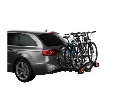 Suport biciclete Thule VeloCompact 926 cu prindere pe carligul de remorcare, pentru 3 biciclete
