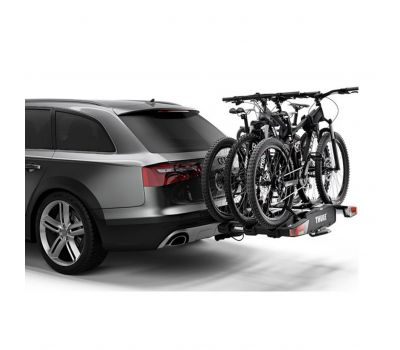 Suport biciclete Thule EasyFold XT 3 cu prindere pe carligul de remorcare - pentru 3 biciclete