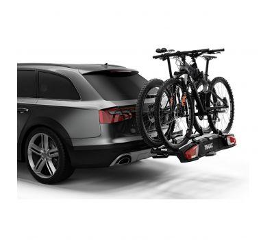 Suport biciclete Thule VeloSpace 938 XT2 cu prindere pe carligul de remorcare (13pini)- pentru 2(3) biciclete