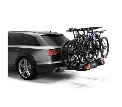 Suport biciclete Thule VeloSpace 939 XT3 cu prindere pe carligul de remorcare (13pini)- pentru 3(4) biciclete
